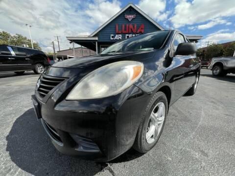 2013 Nissan Versa for sale at LUNA CAR CENTER in San Antonio TX