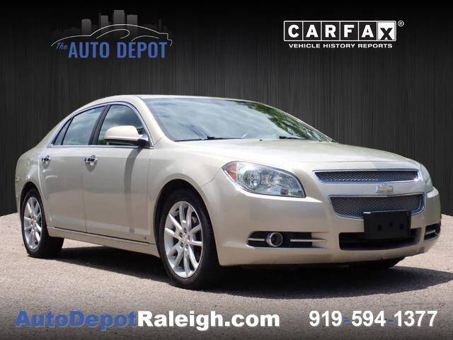 2009 Chevrolet Malibu for sale at The Auto Depot in Raleigh NC