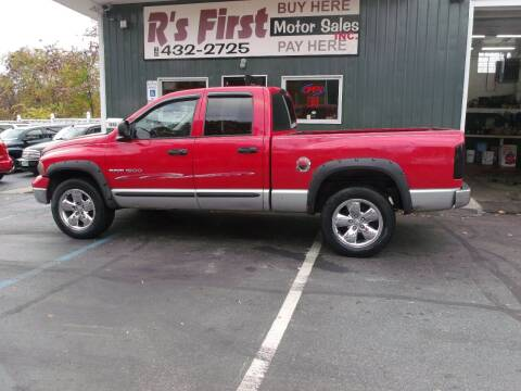 2003 Dodge Ram Pickup 1500 for sale at R's First Motor Sales Inc in Cambridge OH