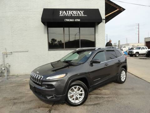 2014 Jeep Cherokee for sale at FAIRWAY AUTO SALES, INC. in Melrose Park IL