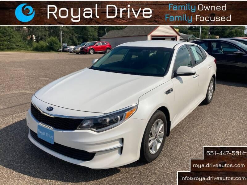 2018 Kia Optima for sale at Royal Drive in Newport MN