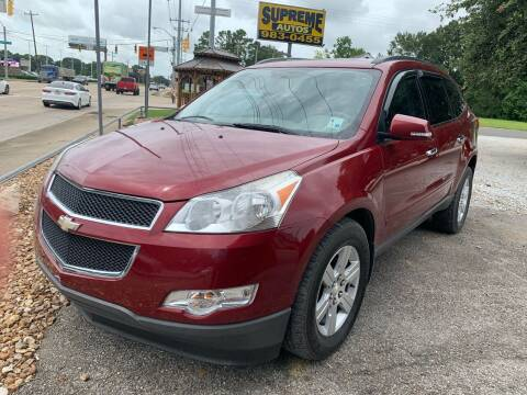 2011 Chevrolet Traverse for sale at Supreme Autos in Lafayette LA