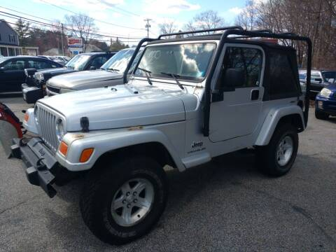2005 Jeep Wrangler for sale at Auto Brokers of Milford in Milford NH