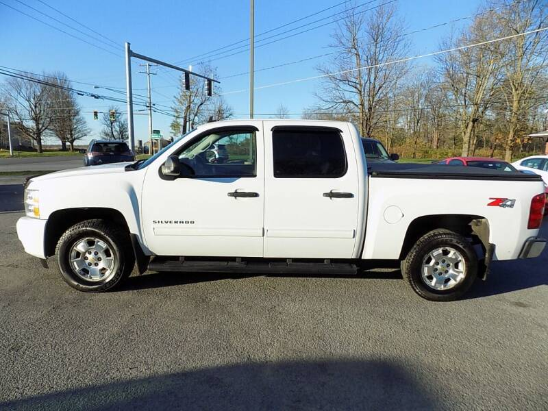2011 Chevrolet Silverado 1500 for sale at SUMMIT TRUCK & AUTO INC in Akron NY
