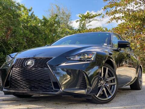 2017 Lexus IS 200t for sale at HIGH PERFORMANCE MOTORS in Hollywood FL