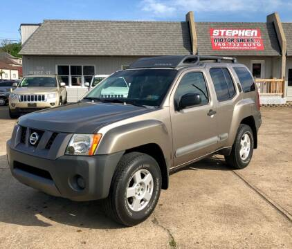 2005 Nissan Xterra for sale at Stephen Motor Sales LLC in Caldwell OH