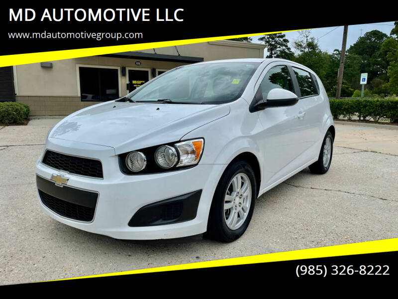 2015 Chevrolet Sonic for sale at MD AUTOMOTIVE LLC in Slidell LA