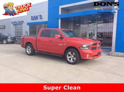 2017 RAM Ram Pickup 1500 for sale at DON'S CHEVY, BUICK-GMC & CADILLAC in Wauseon OH