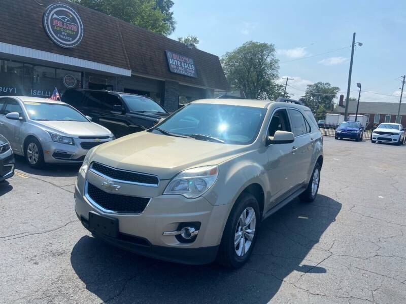 2011 Chevrolet Equinox for sale at Billy Auto Sales in Redford MI