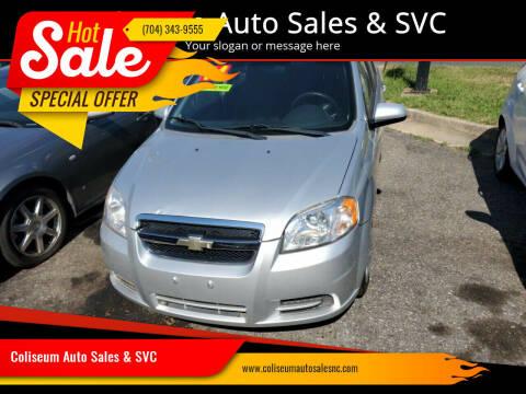 2011 Chevrolet Aveo for sale at Coliseum Auto Sales & SVC in Charlotte NC