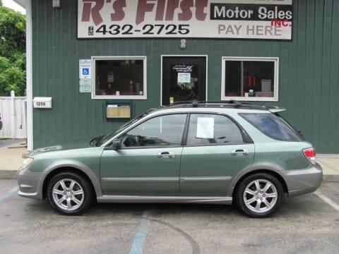 2006 Subaru Impreza for sale at R's First Motor Sales Inc in Cambridge OH