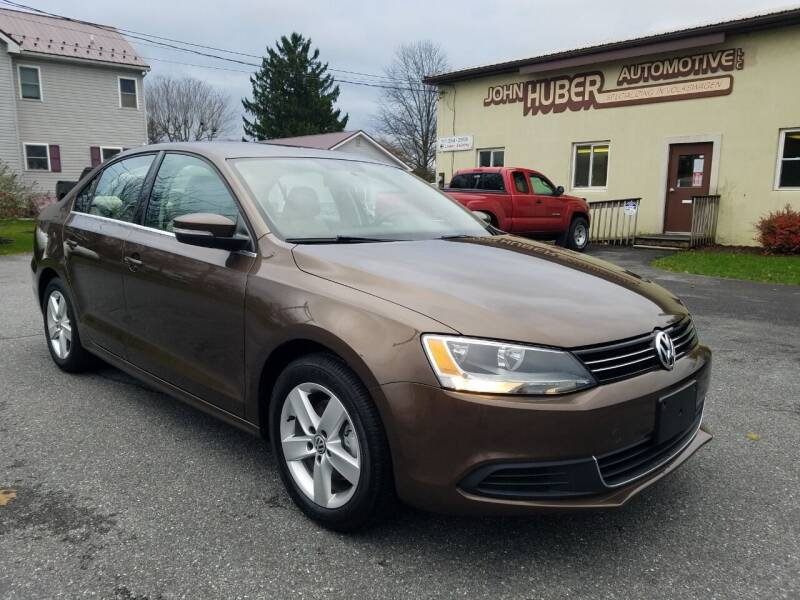 2013 Volkswagen Jetta for sale at John Huber Automotive LLC in New Holland PA
