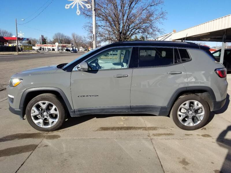 2019 Jeep Compass for sale at Faw Motor Co - Faws Garage Inc. in Arapahoe NE