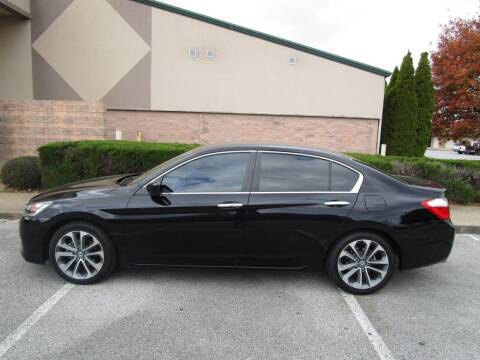 2015 Honda Accord for sale at JON DELLINGER AUTOMOTIVE in Springdale AR