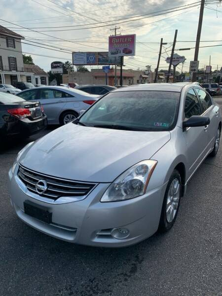 2010 Nissan Altima for sale at Butler Auto in Easton PA
