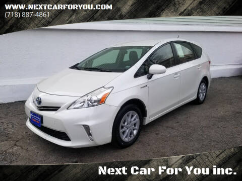 2014 Toyota Prius v for sale at Next Car For You inc. in Brooklyn NY