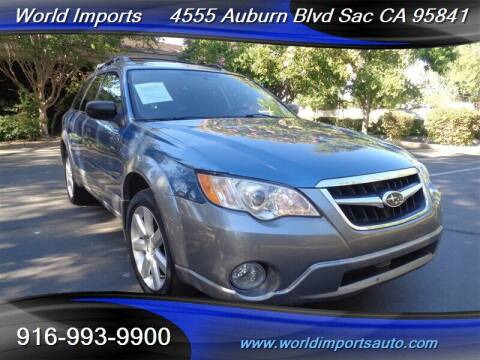 2009 Subaru Outback for sale at World Imports in Sacramento CA