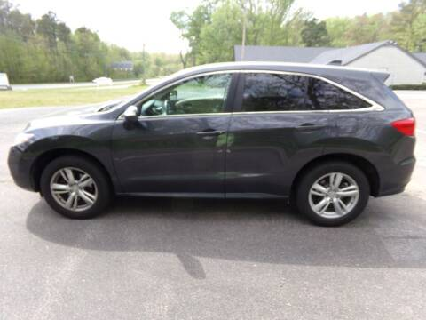 2013 Acura RDX for sale at West End Auto Sales LLC in Richmond VA