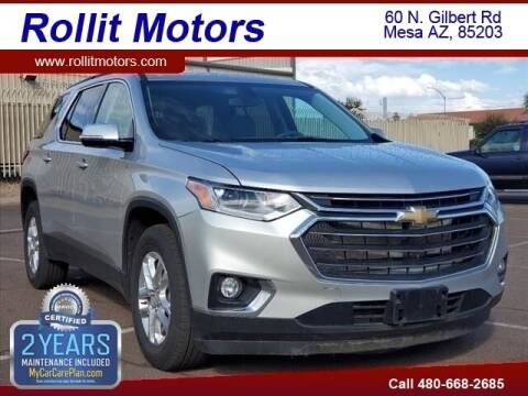 2020 Chevrolet Traverse for sale at Rollit Motors in Mesa AZ