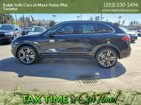 2012 Porsche Cayenne for sale at Ralph Sells Cars at Maxx Autos Plus Tacoma in Tacoma WA