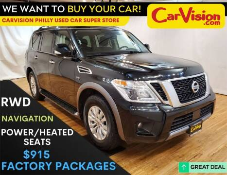 2019 Nissan Armada for sale at Car Vision Mitsubishi Norristown - Car Vision Philly Used Car SuperStore in Philadelphia PA