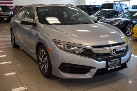 2016 Honda Civic for sale at Legend Auto in Sacramento CA
