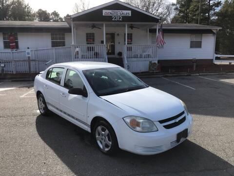 2007 Chevrolet Cobalt for sale at CVC AUTO SALES in Durham NC