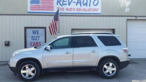 2008 GMC Acadia for sale at Rev Auto in Clarion IA