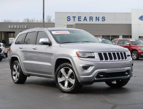 2014 Jeep Grand Cherokee for sale at Stearns Ford in Burlington NC