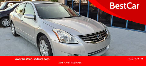 2012 Nissan Altima for sale at BestCar in Kissimmee FL