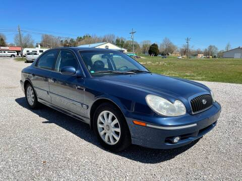2003 Hyundai Sonata for sale at 64 Auto Sales in Georgetown IN