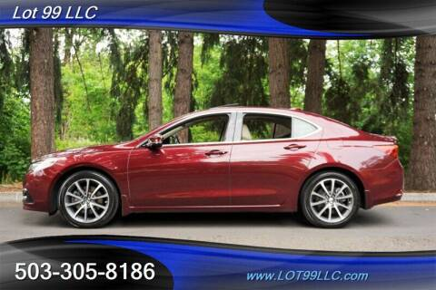 2015 Acura TLX for sale at LOT 99 LLC in Milwaukie OR