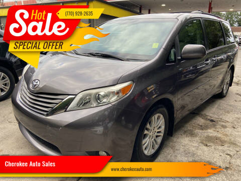 2011 Toyota Sienna for sale at Cherokee Auto Sales in Acworth GA