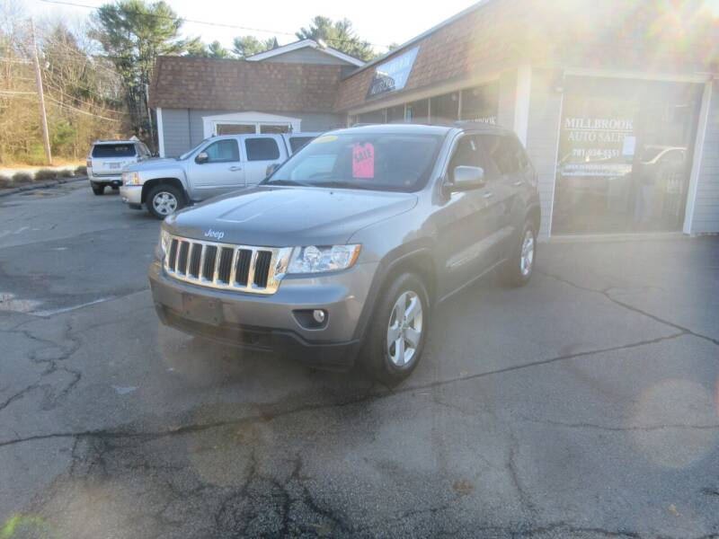 2013 Jeep Grand Cherokee for sale at Millbrook Auto Sales in Duxbury MA