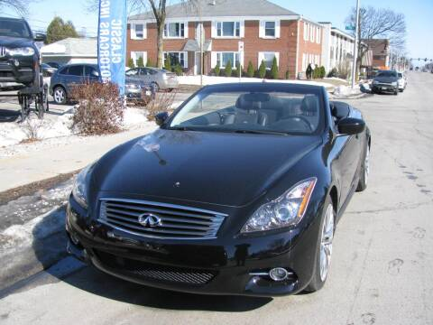 2011 Infiniti G37 Convertible for sale at CLASSIC MOTOR CARS in West Allis WI