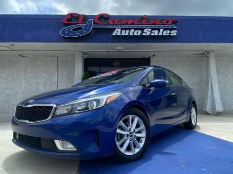 2017 Kia Forte for sale at El Camino Auto Sales Gainesville in Gainesville GA