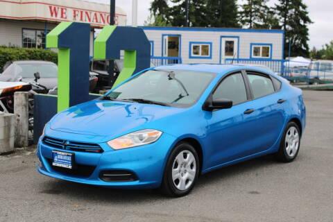 2016 Dodge Dart for sale at BAYSIDE AUTO SALES in Everett WA