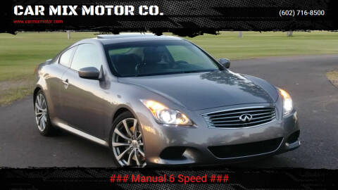 2008 Infiniti G37 for sale at CAR MIX MOTOR CO. in Phoenix AZ