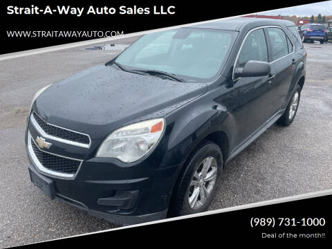2014 Chevrolet Equinox for sale at Strait-A-Way Auto Sales LLC in Gaylord MI