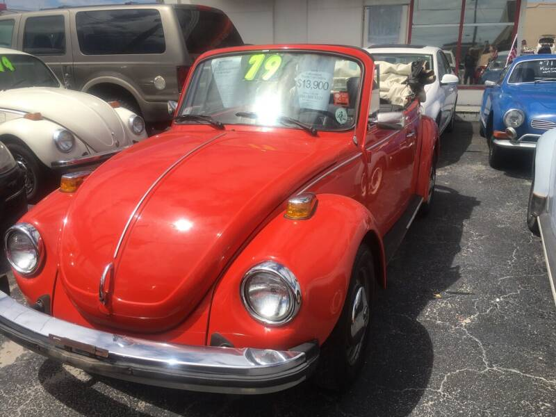 1979 Volkswagen Beetle Convertible for sale at TOP TWO USA INC in Oakland Park FL