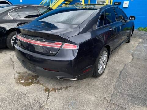 2013 Lincoln MKZ Hybrid for sale at JacksonvilleMotorMall.com in Jacksonville FL