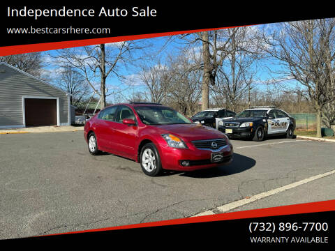 2008 Nissan Altima for sale at Independence Auto Sale in Bordentown NJ