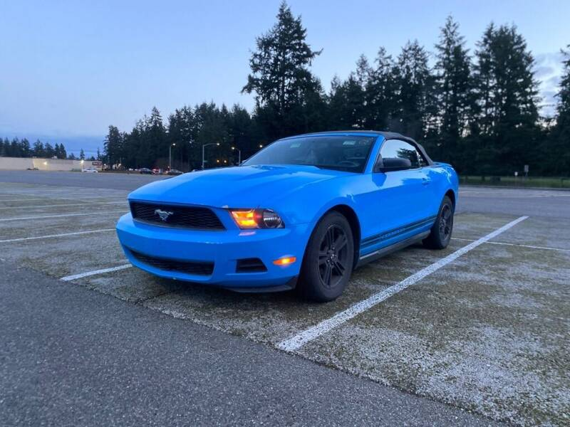 2010 Ford Mustang for sale at Apex Motors Parkland in Tacoma WA