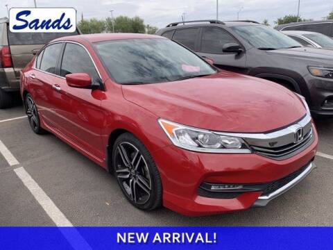 2017 Honda Accord for sale at Sands Chevrolet in Surprise AZ