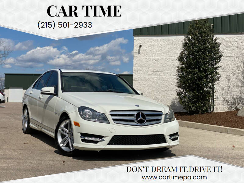 2012 Mercedes-Benz C-Class for sale at Car Time in Philadelphia PA