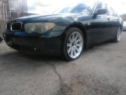 2002 BMW 7 Series for sale at JacksonvilleMotorMall.com in Jacksonville FL