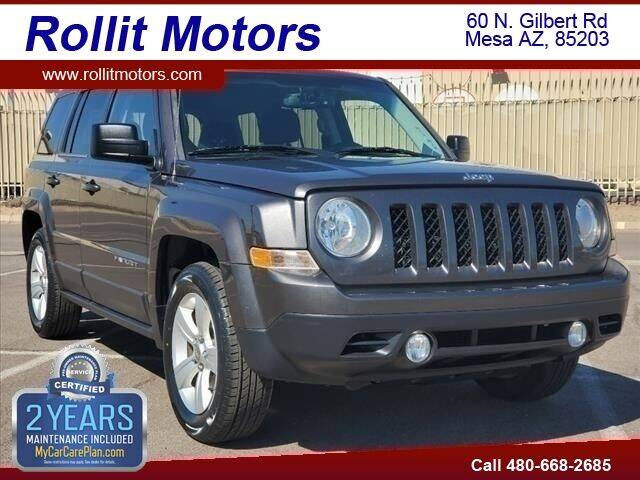 2014 Jeep Patriot for sale at Rollit Motors in Mesa AZ
