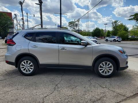 2017 Nissan Rogue for sale at ECONOMY AUTO MART in Chicago IL