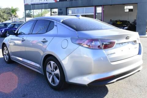 2014 Kia Optima Hybrid for sale at Good Clean Cars in Melbourne FL