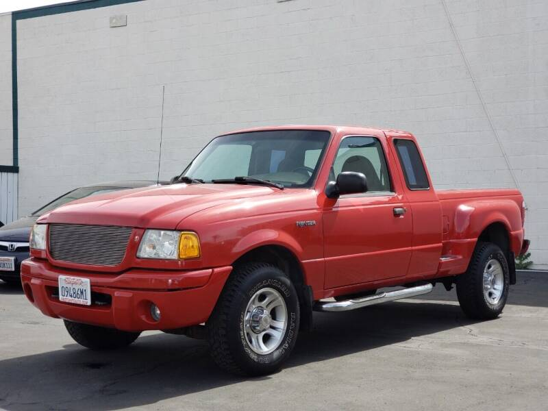 2001 Ford Ranger for sale at First Shift Auto in Ontario CA